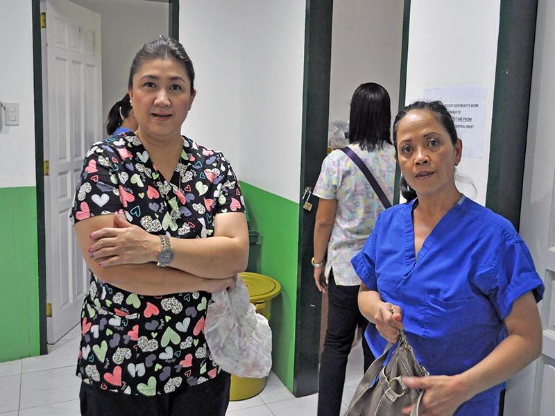 Flor and Blesila Sabay